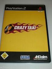 SEGA CRAZY TAXI PLAYSTATION 2 PS2 VOR DIR LIEGT DIE TAXIFAHRT DEINES LEBENS !