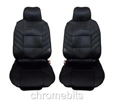 FRONT BLACK COMFORT CUSHION SEAT COVERS FOR MERCEDES C E ML VITO SPRINTER VANEO