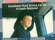 50 Postcards Little Lee Comic Trucking Sometimes Truck Driving Lonely Business