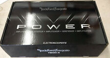 NEW ROCKFORD FOSGATE POWER T600-4  790 Watt RMS 4/3/2 CH Amplifier 1600 Watt Max