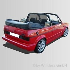 VW Golf Cabriolet Mk1 CONVERTIBLE WIND DEFLECTOR wind stop screen (Bodi XL)