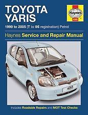 Haynes Car Owners + Workshop Handbook Manual Toyota Yaris Petrol 99- 05 4265