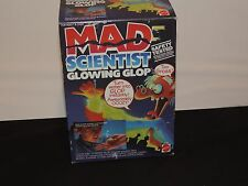 Monster Factory mattel 1986 Mad Scientist GLOWING GLOP 4320  Vintage complete