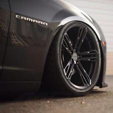 """20"""" MRR M716 Camaro ZL1 1LE Replica Wheels Staggered Satin Black (Rims Set 4)"""