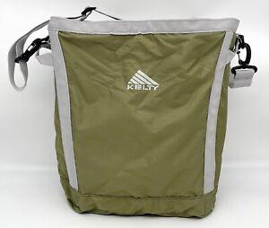 Kelty Camp Carton Bag Organization Storage Zip Tote Camping Hiking Travel Green