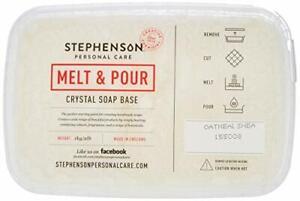 Melt and Pour Soap Base - Oatmeal & Shea Butter - 1Kg