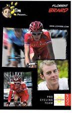 CYCLISME carte cycliste FLORENT BRARD équipe COFIDIS 2009