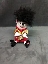 Gemmy Puffy Head Christmas Musical Action Toy Sings Deck The Halls Plays Drums
