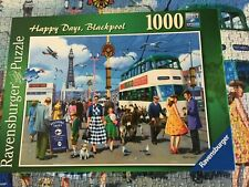 Ravensburger 1000 piece Jigsaw Puzzle Happy days, Blackpool. complete, Mint con