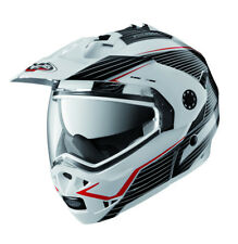 Caberg Tourmax Sonic white/Red/Grey 1st Enduro Flip Front Helmet!