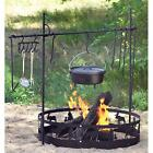 Campfire Cooking Equipment Set Fire Outdoor Camp BBQ Portable