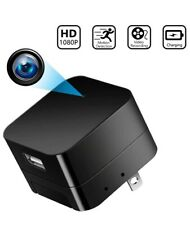 Camera Charger Hidden Cameras Nanny Cam USB Wall Adapter HD 1080P Mini Cams