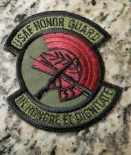 USAF PATCH, US AIR FORCE HONOR GUARD, WASHINGTON D.C. CEREMONIAL UNIT