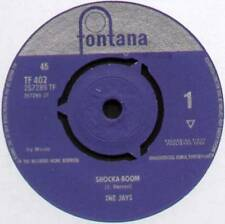 "Jays ~ Shocka-Boom/en el mar ~ 1963 Reino Unido 7"" Single ~ Fontana TF 402"