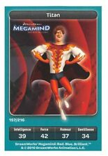 Carte Carrefour Dreamworks - Megamind - Titan  N°157
