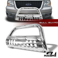 For 2004-2018 Ford F150 Non-Ecoboost Stainless Bull Bar Push Bumper Grille Guard