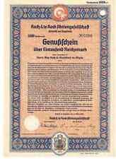 Koch & te Kock AG  1939  Oelsnitz im Vogtland    DEKO
