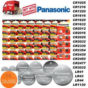 Panasonic CR2032 CR2025 CR1220 CR1616 CR1620 CR2016 Li Battery 3V Sydney stock