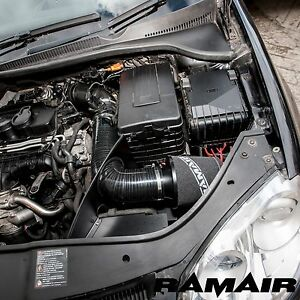 RamAir - Kit filtre à air - induction/écran thermique - VW Golf V/VI 1.9 2.0 TDI