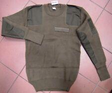 Maglione Esercito Italiano Verde Kaki ORIGINALE tg.L NUOVO