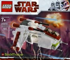 LEGO Star Wars Clone Wars - Rare - Brickmaster - Republic Gunship 20010 - New