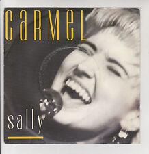 """CARMEL Vinile 45 giri SP 7"""" SALLY - INNO OF LOVE - LONDON RECORDS 886 054 RARE"""