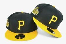 New Era Black - Yellow Pittsburgh Pirates World Series Patch Snapback Hat 0091fb0db