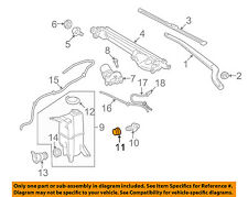 TOYOTA OEM Wiper Washer-Windshield-Fluid Level Sensor Packing 85319AA020