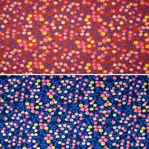 Floral Cotton Jersey Fabric, Childrens Fabric, Dressmaking Fabric