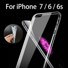 Ultra Thin Silicone Soft TPU Crystal Clear Skin Case Cover for iPhone X & 7 PLUS