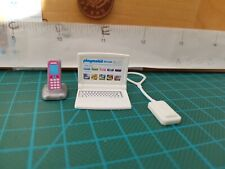 3024 Playmobil New Spares Toy Laptop Ipod/ Music Player & toy Phone on Charge