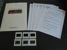 VOLVO 960 brochure dossier de presse media press kit - édition 06/1994