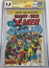 True Believers Giant Size X-Men #1 Reprint Signed Stan Lee & Len Wein CGC 9.8 SS
