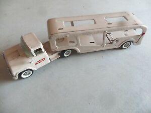 Buddy L Car Carrier Tan Color 1960's