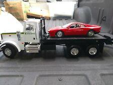 Ertl Big Farm Roll Back Tow Truck Porsche Turbo Polistil 1:16 scale John Deer