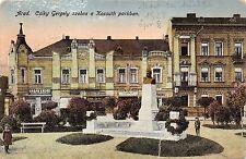 B25350 Arad Csky Gergely Szobra A Kossuth parkban   romania