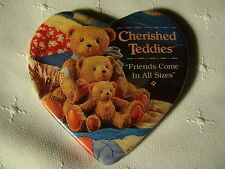 Cherished Teddies FRIENDS COME IN ALL SIZES Promotional Pinback Button