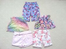 Sz 0 Girls Beautiful Casual Short x5, All in Colourful + AS NEW +Excellent used