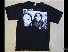 Weird Wolf Size Small Black T-Shirt