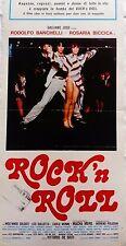 locandina playbill rock n roll de sisti bamchelli musicale commedia