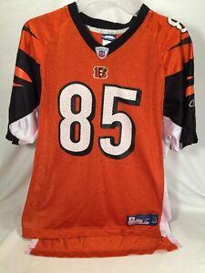 Cincinnati Bengals CHAD JOHNSON 85 REEBOK OFFICIAL NFL FOOTBALL JERSEY XL(18-20)