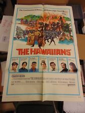CHARLTON HESTON  JAMES A MICHENER THE HAWAIIANS  27X41 MOVIE POSTER  MP114