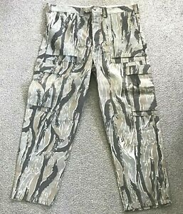 VTG Ideal Products Standing Timber Camo Hunting Paintball Pants Men's 2XL NEW