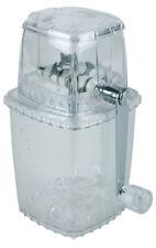 Eis Ice Crusher Eiszerkleinerer aus Kunststoff mit Edelstahl Messer Gastlando