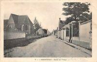 SERBONNES - Entrée du village