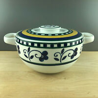 Mikasa FIRENZE - ROUND COVERED CASSEROLE & LID - 3 Quarts - Excellent Condition