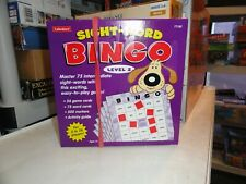 Lakeshore Sight-Word Bingo Level 2 Children's Educational Game
