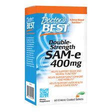 Doctors Best SAM-e, 400mg x 60 Tablets - Joints & Arthritis, Mood, Liver Health