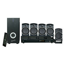 Supersonic 5.1 Channel Dvd Home Theater System Sc-37Ht Home Theater New