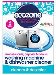 Washing Machine & Dishwasher Cleaner 135g (Ecozone)